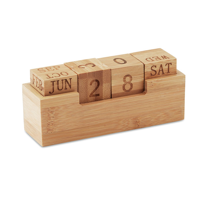 MO9404-40<br> Calendar din bambus