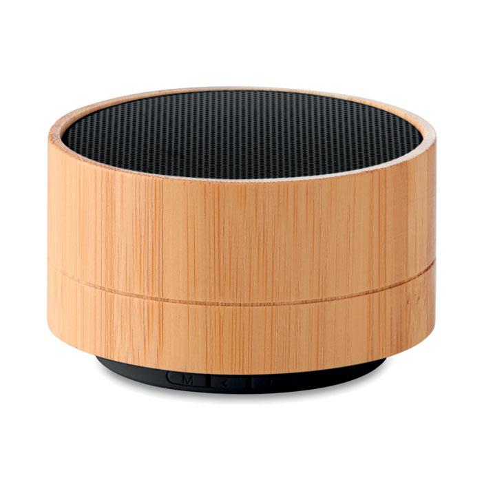 MO9609-03<br> Boxa wireless din bambus 3W