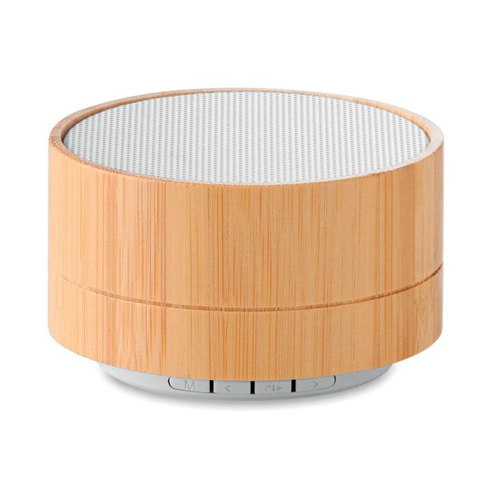 MO9609-06<br> Boxa wireless din bambus 3W