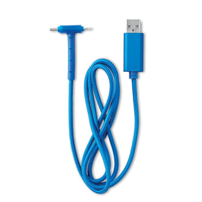 MO9688-37<br> Cablu 3 in 1 cu stativ