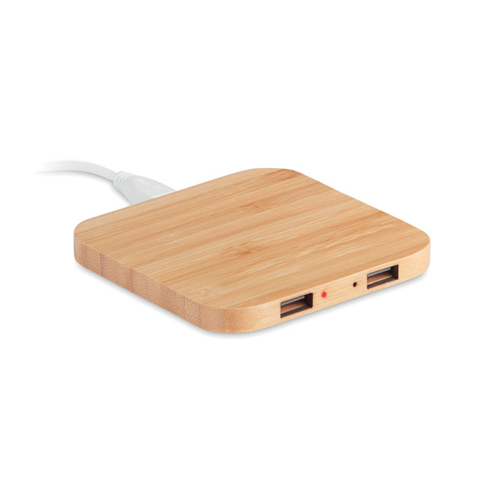 MO9698-40<br> Incarcator wireless din bambus