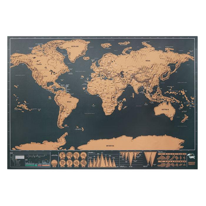 MO9736-13<br> Harta lumii razuibila 42x30 cm