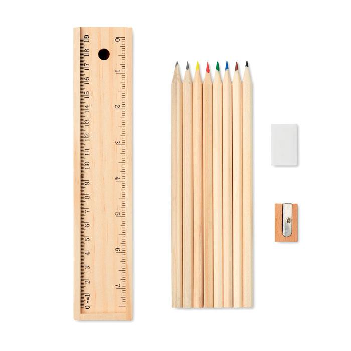 MO9836-40<br> Set de 12 creioane de lemn