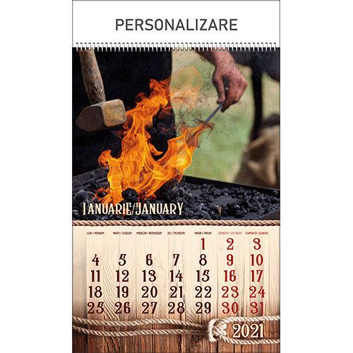 MST<br> Calendar  perete imagini Mosteniri